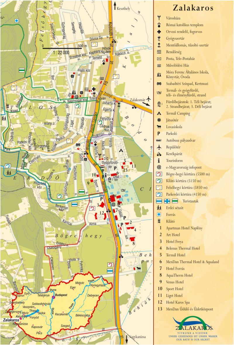zalakaros térkép Térkép | Zalakaros zalakaros térkép